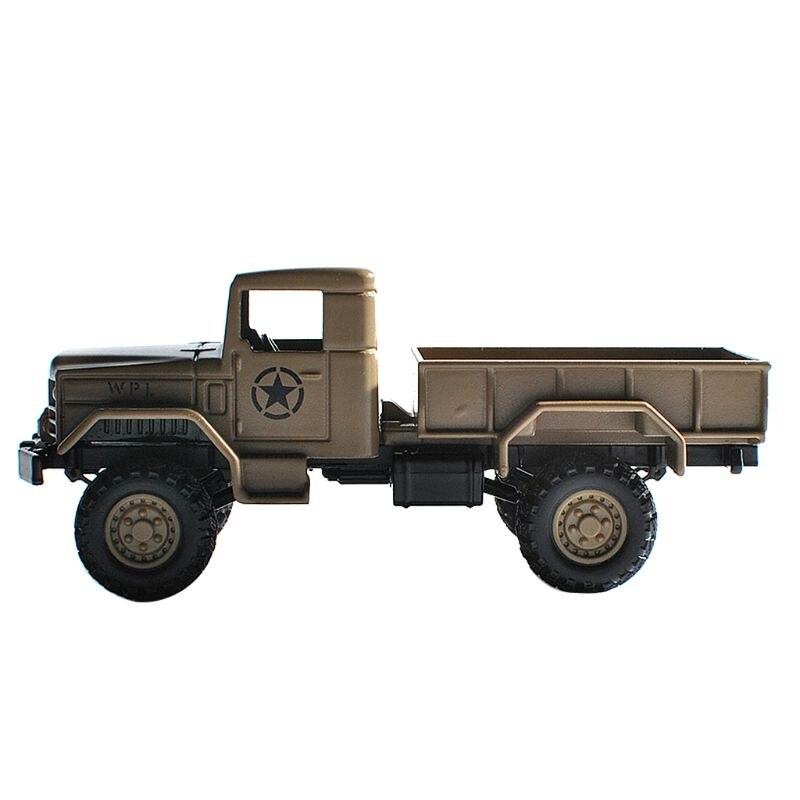 Wpl mb16 164 liga rc carro modelo 6 roda simulação brinquedo do veículo para crianças m89c