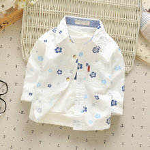 Kids Baby Boys Long-Sleeve Shirts Clothes 0-4Y
