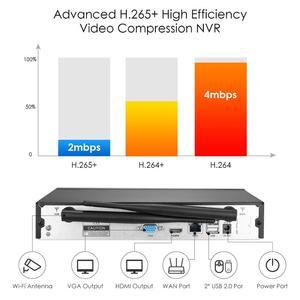 Image 3 - ZOSI H.265 1080P 8CH CCTV система видеонаблюдения беспроводная WIFI IP наружная камера NVR комплект HDD Удаленный просмотр в ПК монитор