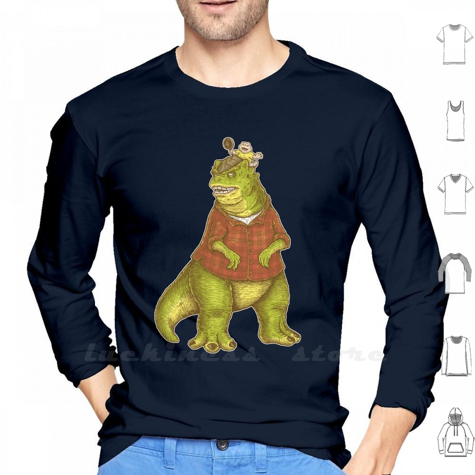Dino Parenthood Not The Mama Long Sleeve Men Women Teenage Dinosaurs Baby Earl 90s Not He Mama Ilustration Father Dad Fathers T Shirts Aliexpress