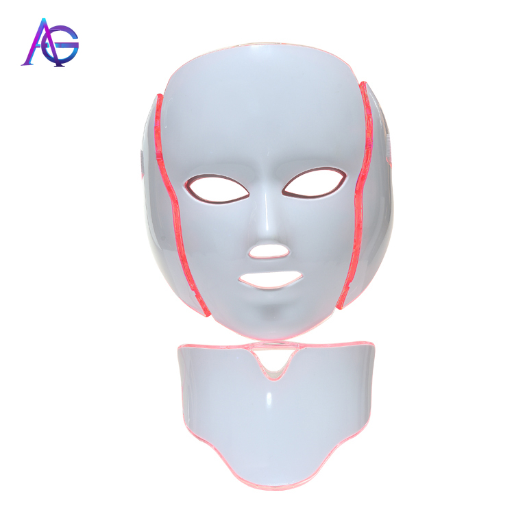 Adg Mascara Facial Led 7 Colores Face Skin Rejuvenation Beauty Therapy Skin Care Face Mask