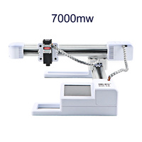 J3 7000mw Touch Screen DIY Laser Engraving Machine Mini Engraver Cutting Machine with WIFI   US Plug