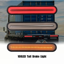 Lamp Ring-Tail-Brake-Stop-Turn-Light Halo Flowing-Signal-Light Sequential Neon Waterproof