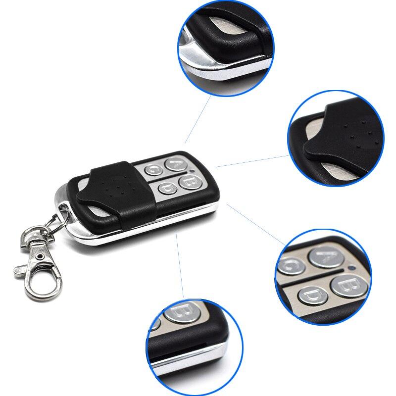 Image 4 - MOTORLINE remote gate control key duplicator MOTORLINE garage door opener 433.92 Garage Door command key chain for barrier-in Door Remote Control from Security & Protection