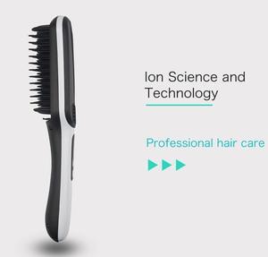 Image 2 - Prostownice do włosów profesjonalne szybkie napięcie uniwersalne ceramiczne elektryczne szczotka do prostowania włosów urządzenie do stylizacji prostownica do włosów ET 16