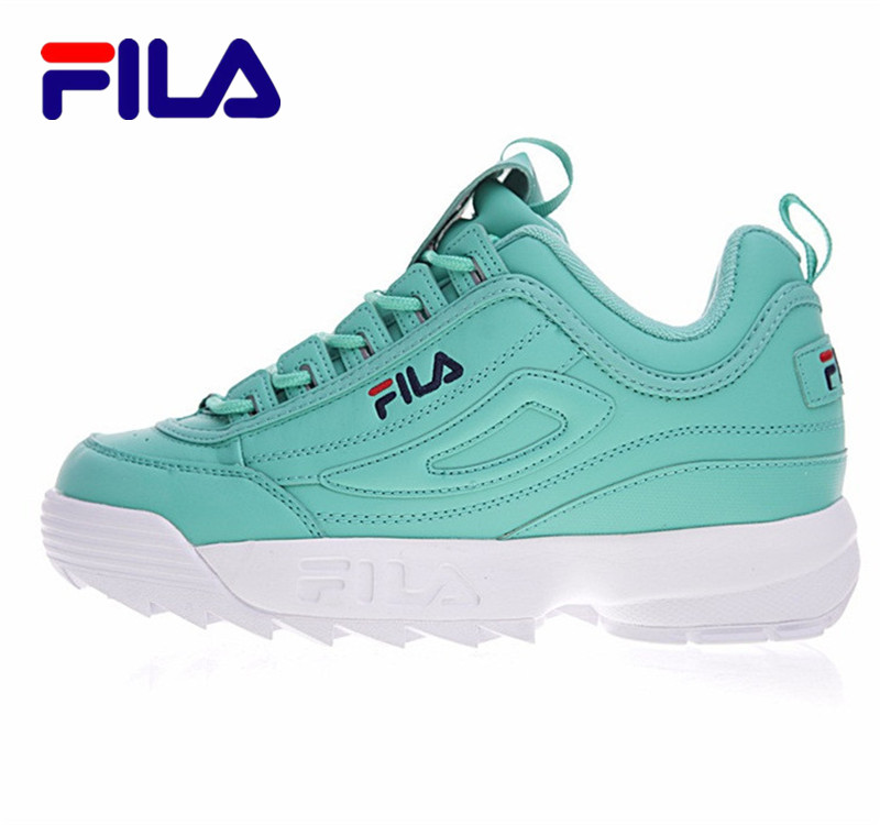 2017 FILA Disruptor II 2 Genuine Womn Running Shoes Rose Zoom Air Sports Shoes FW01656 Outdoor New 4 Colors Size 36-41