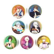 купить 7pcs/lot Idolish7 Anime Badge IZUMI IORI YAMATO NIKAIDO SOGO NAGI TAMAKI Gaku Mitsuki OSAKA D443 недорого