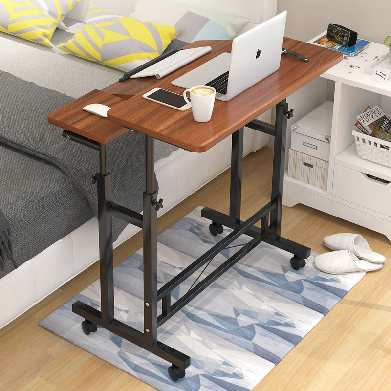Bedside Table Of Belt Pulley Computer Desk Can Lift Table Is Contracted And Contemporary Desk Study Bedroom Dorm Table