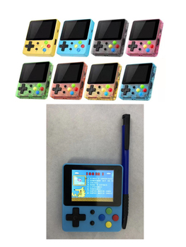 20 pcs Retro Portable Mini Handheld Game Console 2.4Inch Color LCD Kids Color Game Player Built-in 188 Games