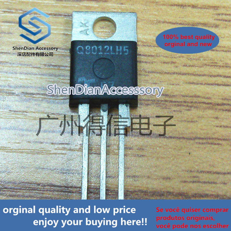 5pcs 100% Orginal New Q8012LH5 Q8012 Bidirectional SCR TO-220  Real Photo