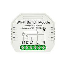 Smart Life Tuya APP WiFi Smart Switch 90-250V WiFi Switch