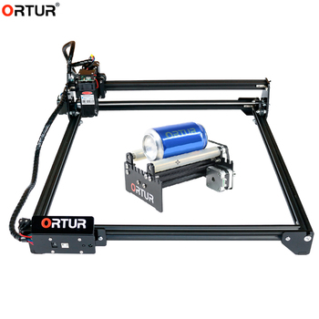 Ortur Rotate Engraving Module YRR Laser Engraver Y Axis DIY Update Kit for Column Cylinder Engraving with Ortur Laser Ma