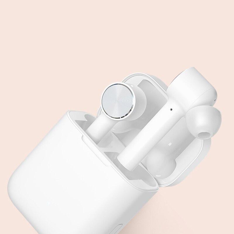 Original Xiao mi Airdots Pro mi Air Bluetooth écouteur Tws et commutateur HD Pause automatique contrôle du robinet pour IOS téléphone Android livraison directe - 3