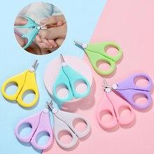 Bebê recém-nascido segurança clippers prego tesoura cortador conveniente diariamente concha do prego do bebê tesoura manicure ferramenta do prego do bebê tesoura ferramenta