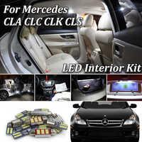 Fehler Kostenloses White LED Innen Licht Kit Für Mercedes Benz CLS CLC CLK CLA Klasse W218 W219 W208 C208 W209 c209 A209 C117 CL203