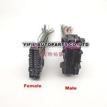 20-контактный/способ мужской или женский двери разъем с жгутом проводов кабеля для Audi A4 A6L A3 A8 Q7 Q3 Q5 8E0 972 702 8E0 972 701