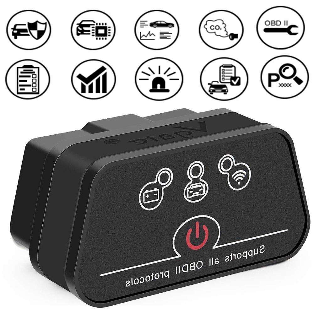 <font><b>vgate</b></font> icar2 OBDII Code Reader Elm327 OBD2 Scanner Bluetooth/Wifi For BMW <font><b>Obd</b></font> 2 Scan Tool for android/IOS icar 2 Diagnostic tool image