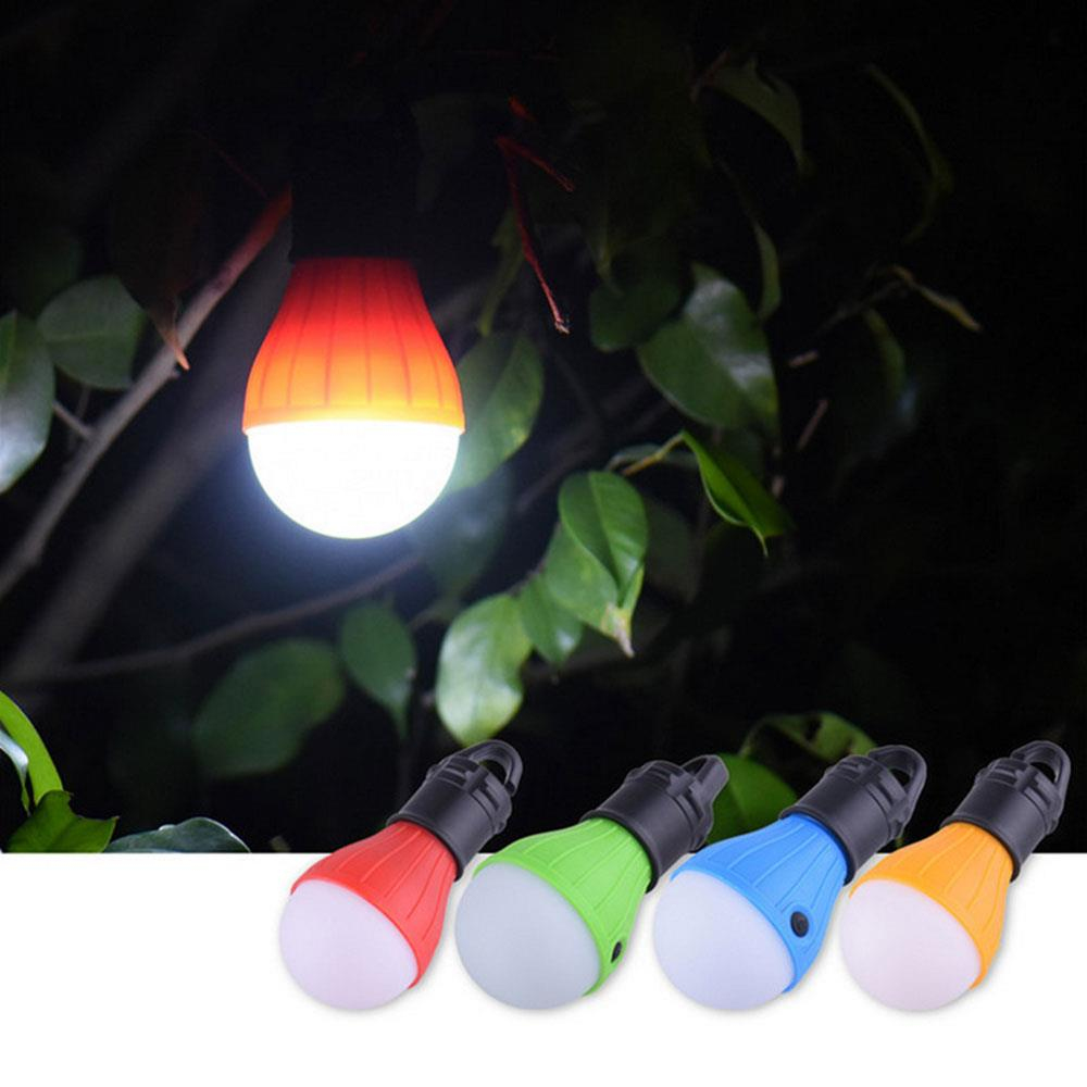 Tent Lamp Light Bulb Multicolor 60LM Fishing Travel Hiking Outdoor Flashlight Lantern Lamp Super Bright 3LED Camping Lights