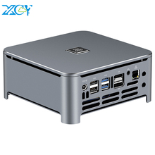 XCY Mini PC Intel Core i9 9980HK 8 Cores M.2 NVMe SSD 2*DDR4 UHD Graphics 630 2.4/5.0G WiFi Bluetooth 4.0 HDMI DP 4K Windows 10 ультрабук acer swift 3 sf314 54 39e1 intel core i3 8130u 2200 mhz 14 1920x1080 8gb 128gb ssd dvd нет intel uhd graphics 620 wi fi bluetooth windows 10 home