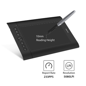 Image 5 - Huion H610 PRO V2 8192 Levels Digital Tablet Graphics Drawing Tablet Battery free Pen Tablet with OTG for PC/Android