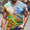 Summer Casual Short Sleeve T-Shirts For Mens  21