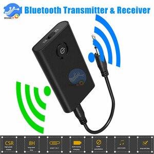 Image 4 - Bluetooth 5,0 Sender Empfänger Wireless Audio Adapter 2 in 1 A2DP 3,5mm Jack Aux Bluetooth Adapter Für PC TV kopfhörer Auto