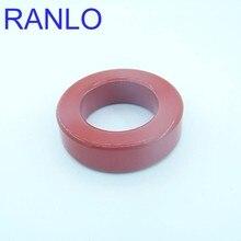 1 шт. Магнитный Железный сердечник магнитное Ферритовое кольцо T200-2 красный серый размер 50,8*31,8*14