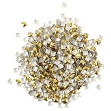 Pack of 270 Nail Art Studs - 4mm - Gold and Silver - Nail Art - Rhinestone - Gems from Y2B кольцо art silver art silver mp002xw0nnrq