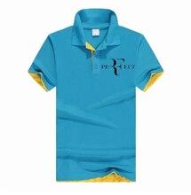 2021 nowa koszulka Polo RF roger federer logo bawełniana koszulka Polo z krótkim rękawem duża ilość koszulki polo 354