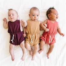 0-3T newborn babyboy clothes baby boys summer overalls short pants romper new born girl onesie body dziecko