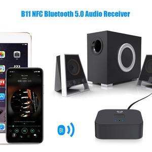 Image 5 - B11 NFCบลูทูธ5.0เครื่องรับสัญญาณเพลงแฮนด์ฟรีสำหรับiPhoneสำหรับAndroidอุปกรณ์