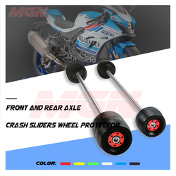 Front REAR Axle Fork Crash Slider For GSXR 1000 GSXR1000 GSX-R1000 2007-2020 Motorcycle Wheel Protector Falling Protection