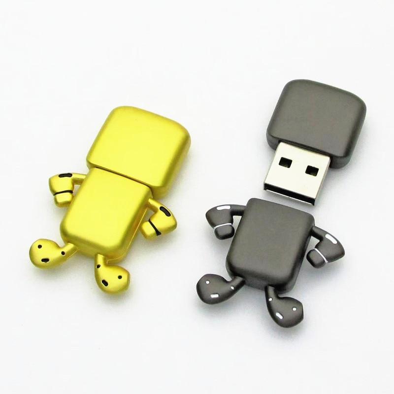 High Quality Metal Pen Drive 256GB 4G 8GB 16GB Portable Usb Flash Drive 32GB 64GB 128GB Pendrive Waterproof Flash Disk Usb Stick