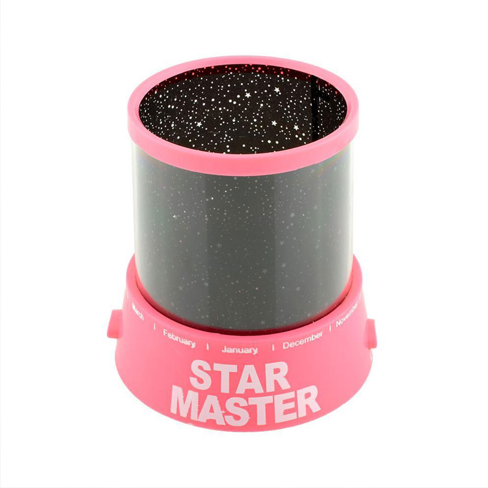Star Sky Novelty Lighting Romantic Star Sky Pink Night Light Gift Christmas LED Night Light Projector Projector Lamp Sleep