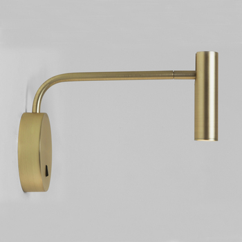 ZEROUNO home modern decor bedroom wall lamp arm swivel with switch LED 3W reading light night for bedside indoor home interior
