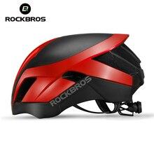 ROCKBROS dağ bisiklet kaskı 3 in 1 MTB yol bisiklet kaskları erkek emniyet kaskı entegral kalıplı pnömatik bisiklet kaskları