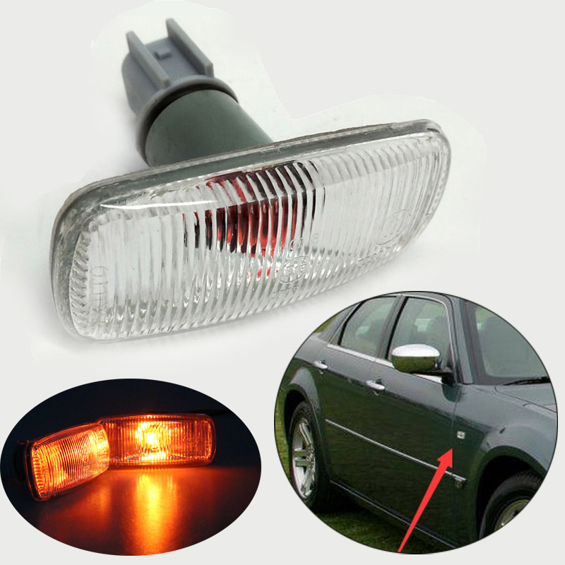 MZORANGE Car front fender lamp Side Turn Signals lights for <font><b>Jeep</b></font> patriot <font><b>compass</b></font> grand cherokee for dodge Charger Avenger image
