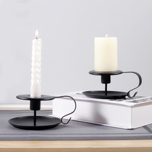 Candle-Holder Can-Hold-Candle Iron Dinner-Decor Taper with Diameter New 1-Pack
