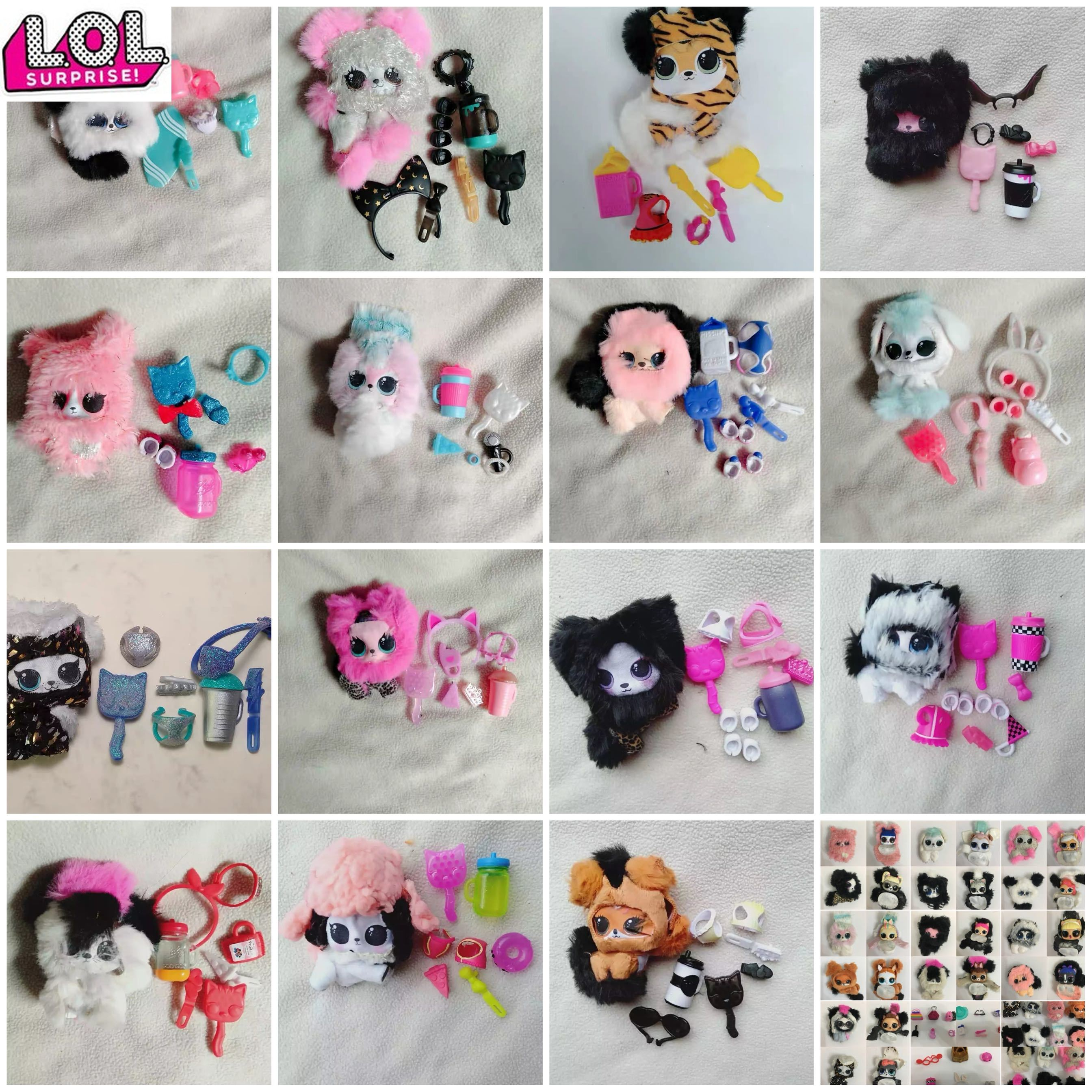 MGA LOL Original Lol Surprise Doll Small Furry Animals Anime Collection Actie & Toy Figures Model Toys For Children
