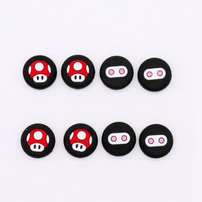 Gamepad Silicone Analog Thumb Stick Grips Cap Joystick Cover For Nintend Switch Lite NS Mini Joy Con Controller Handle Case Skin