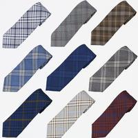 New LDLJ checked uniform checked tie orthodox JK uniform tie student checked Japanese tie