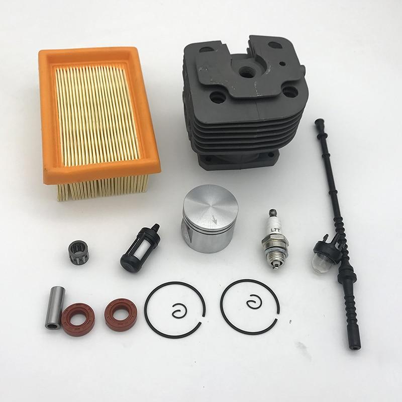 42mm Cylinder Piston Kit Fit For Stihl FS450 FS 450 Trimmer Air Fuel Filter Line Oil Seal Primer Bulb Spark Plug 4128 020 1211
