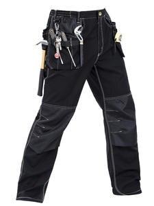 Work-Pants Multi-Pockets Craftsman High-Quality Men Men's New