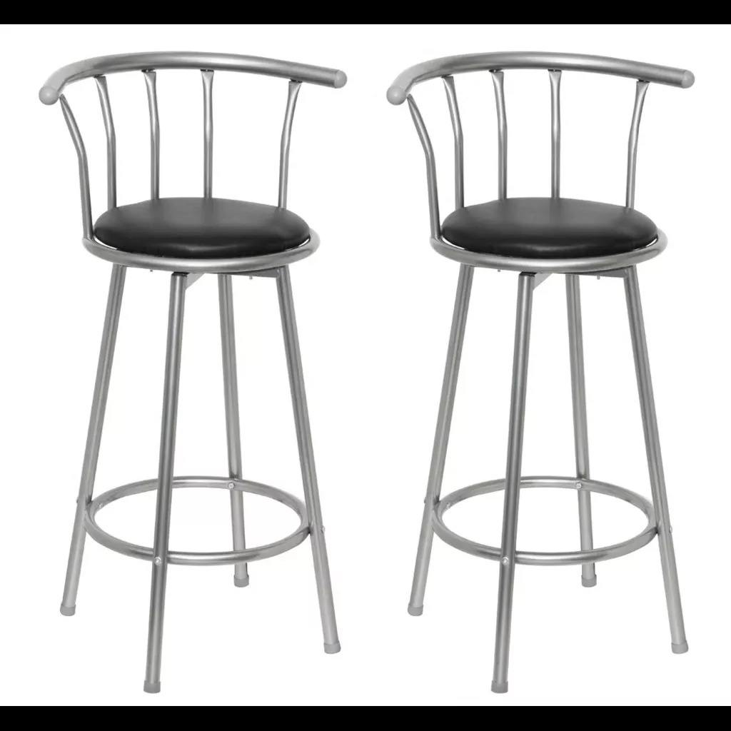 Vidaxl 2PCS 75 Cm Comfortable Bar Chair Bar Furniture Commercial Furniture Bar Stool Restaurant High Stool Coffee Chair V3