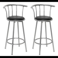 Vidaxl 2PCS 75 Cm Comfortable Bar Chair Bar Furniture Commercial Furniture Bar Stool Restaurant High Stool Coffee Chair