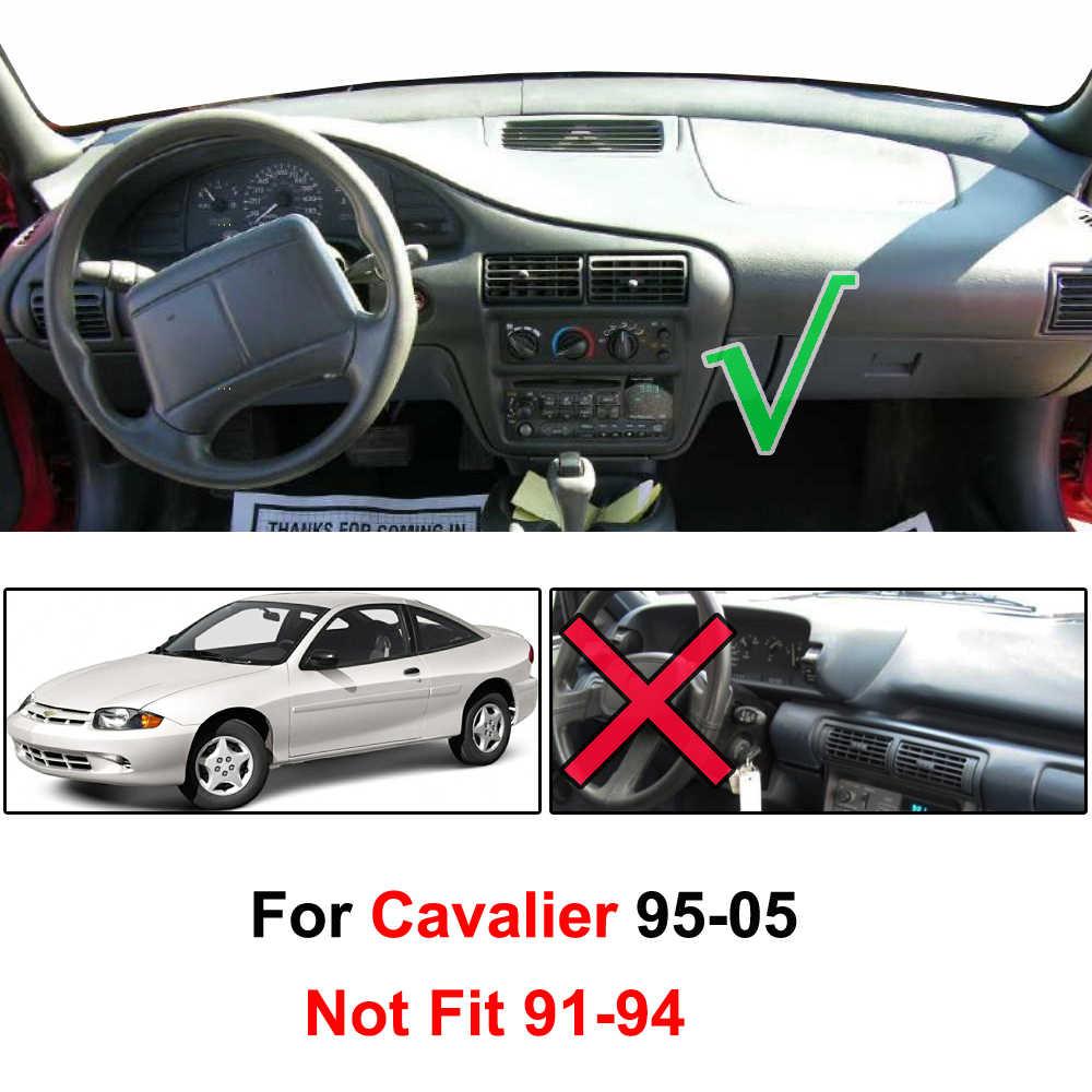 Xukey mata na deskę rozdzielczą Dashmat pokrywa deski rozdzielczej desce rozdzielczej pokrywa dla Chevrolet Chevy Cavalier 1995-2005 1996 1997 1998 1999 2000 2001 2002