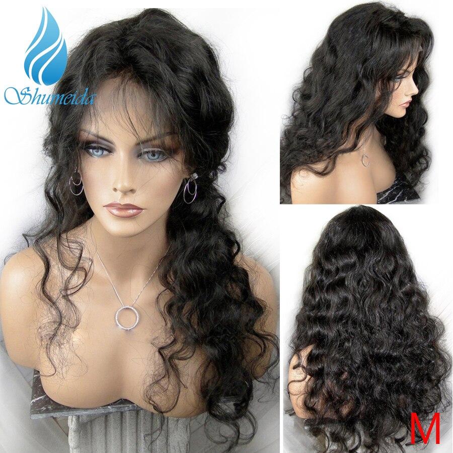 SHUMEIDA brazylijski ciało fala 13*3 koronki przodu peruk dla czarnych kobiet Remy ludzki włos peruki Glueless koronki peruki z dziecięcymi włosami w Peruki z ludzkich włosów na siatce od Przedłużanie włosów i peruki na AliExpress - 11.11_Double 11Singles' Day 1