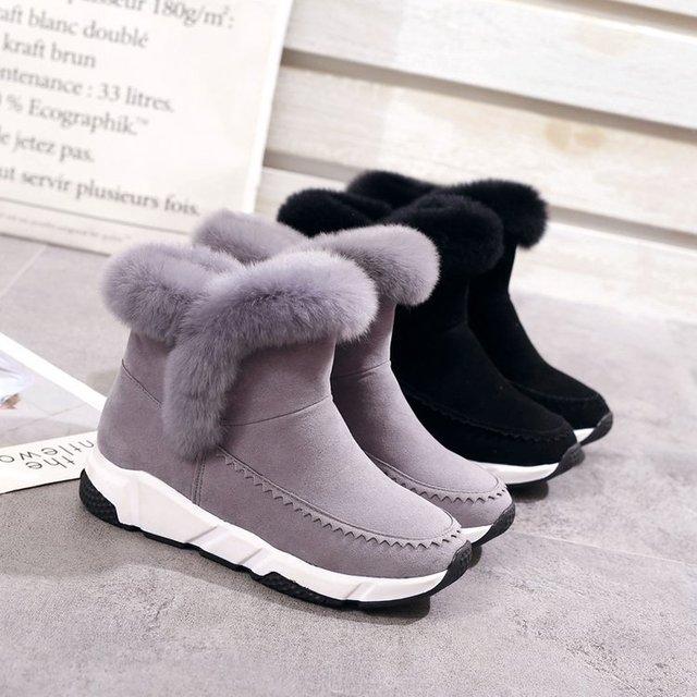 Фото mudibear/женские зимние ботинки женская повседневная обувь из цена