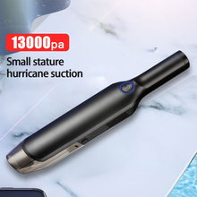 Handheld Wireless Vacuum Powerful Cyclone Suction Rechargeable Car Vacuum Cleaner Wet and Dry Auto