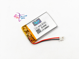 Image 4 - JST XH 2.54mm 503450 523450 3.7V 1000MAH Lithium Polymer LiPo Rechargeable Battery For Mp3 headphone PAD DVD bluetooth camera